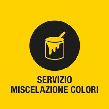 Servizio miscelazione colori