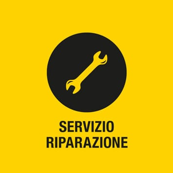 Servizio riparazioni e ricambi