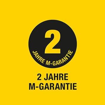 2 Jahre M-Garantie