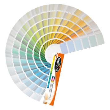 Ventagli di colori