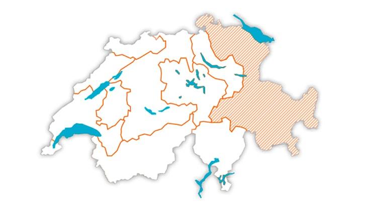 Melectronics Ostschweiz Gebiet