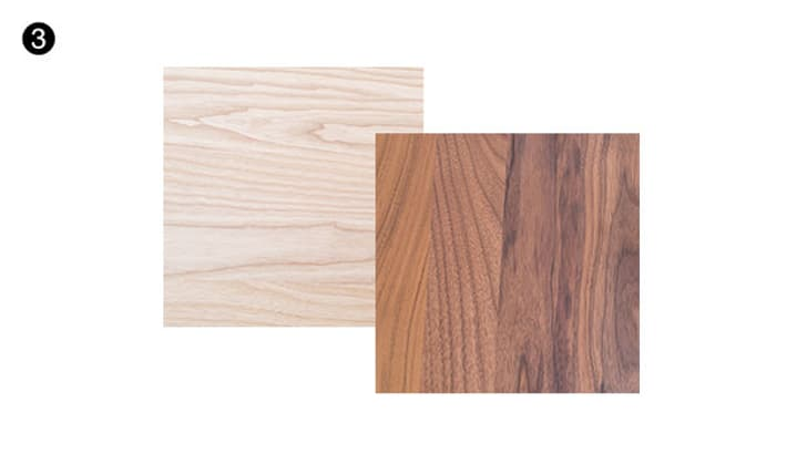 Schritt 3 - Holzarten