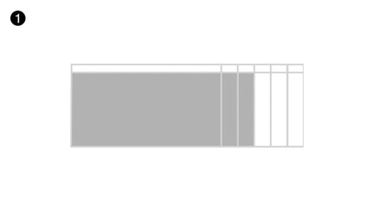 Schritt 1 - Tischplattengrösse
