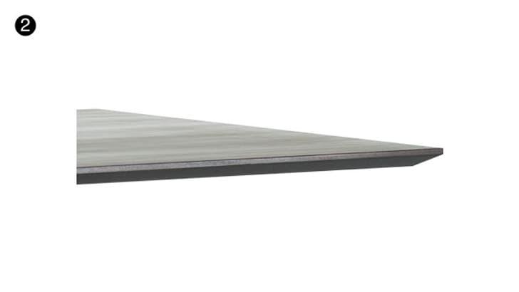 Schritt 2 - Tischplattenart