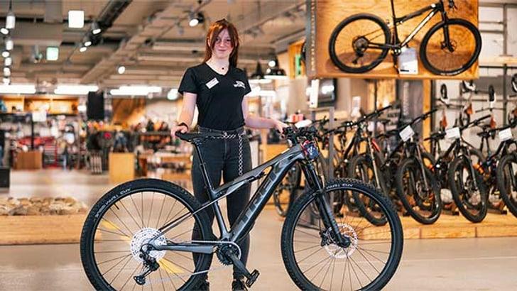 E-Mountainbike TREK E-Caliber 9.6