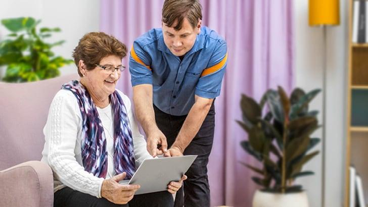 Inbetriebnahme und Aufsetzen des IT-Home Pakets bei Ihnen zu Hause