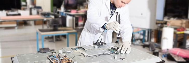 Reparatur und Montage