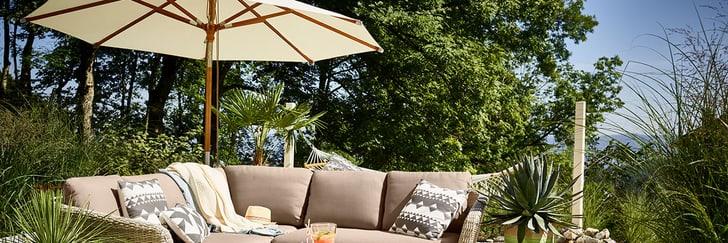 Sonnenschirm für den Garten