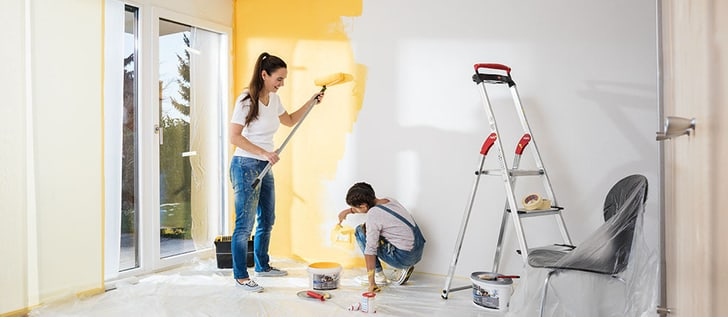 Peindre les murs