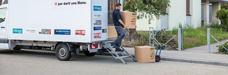 Il nostro servizio di consegna a domicilio