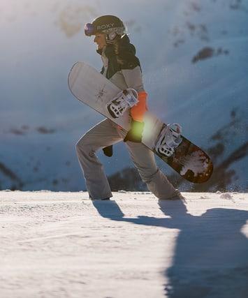 Snowboard & Schuhe