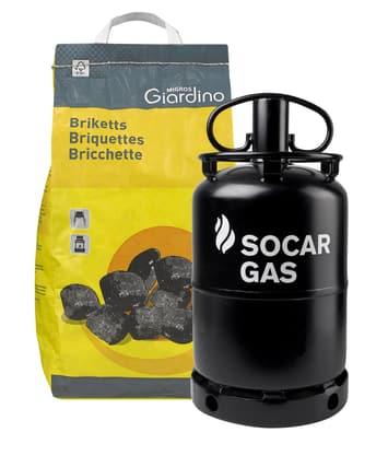Carbonella e gas liquido