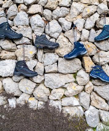 Chaussures de randonnée et trekking
