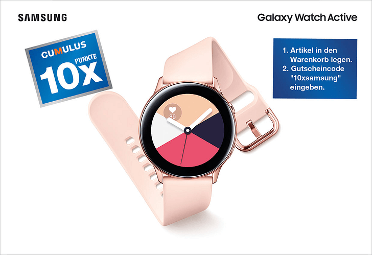 Jetzt Samsung Galaxy Watch Active vorbestellen