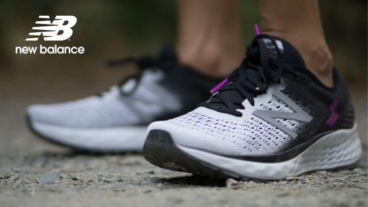 Chaussures de course à l'amorti infatigable