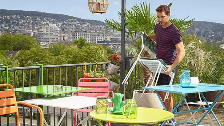 Meubles pour le balcon