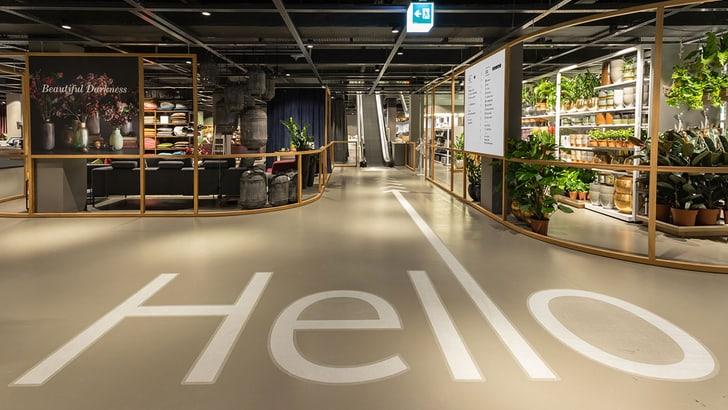 Nouveau concept de magasin