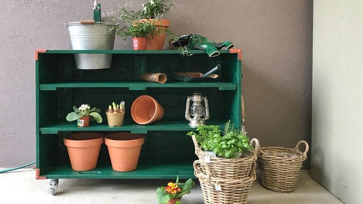 Banco da lavoro DIY per giardinaggio