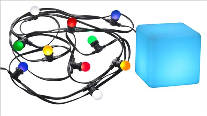 Lichterkette, Partybeleuchtung