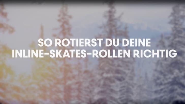 So rotieren Sie Ihre Inline-Skates-Rollen richtig
