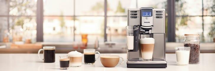 Philips Series 5000 machines espresso automatiques avec LatteGo
