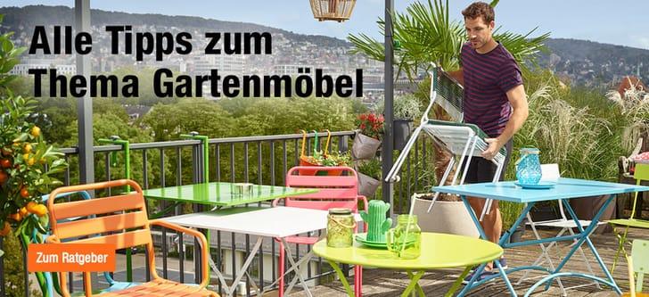 Terrassen- und Gartenmöbel