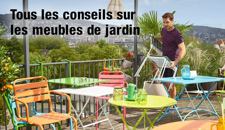 En Plein Air Avec Des Meubles De Jardin Tendance