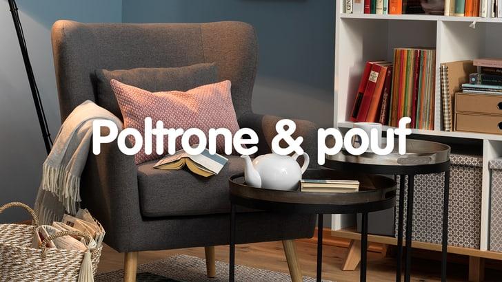 20% su divani, poltrone e mobili per il soggiorno