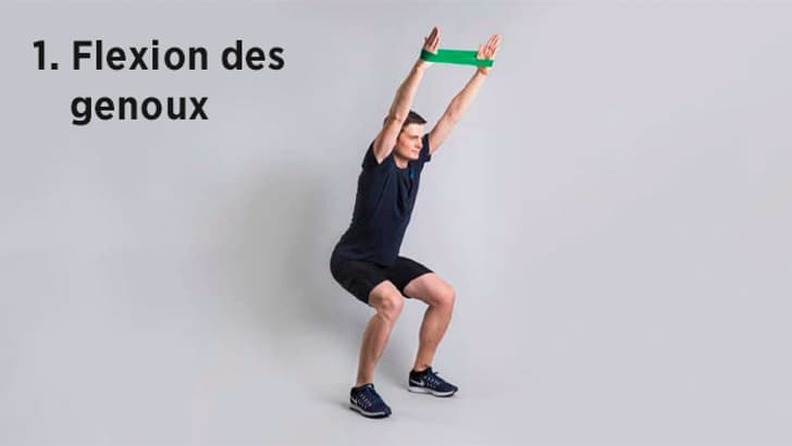 Renforce les muscles ischio-jambiers, le torse et les bras