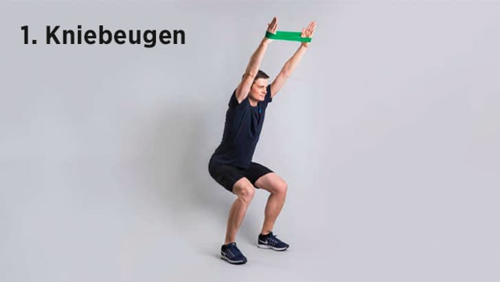 Stärkt die vordere Oberschenkelmuskulatur, den Rumpf und die Arme