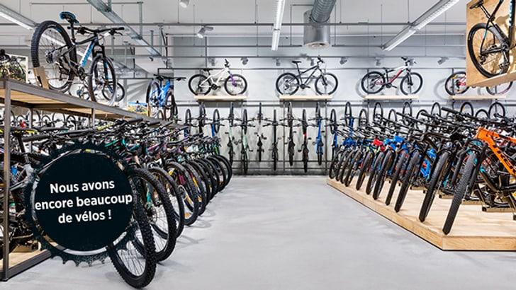 Disponibilité des vélos