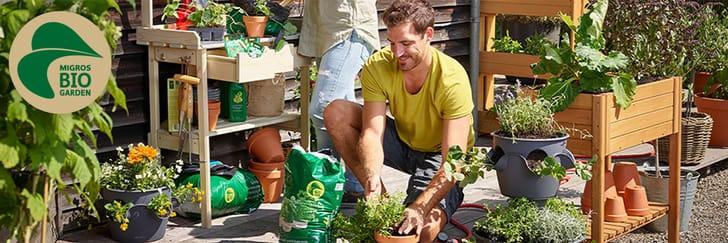 MIGROS BIO GARDEN Produkte zur Pflanzenpflege