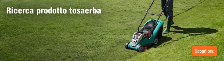 Tagliare l'erba col tosaerba