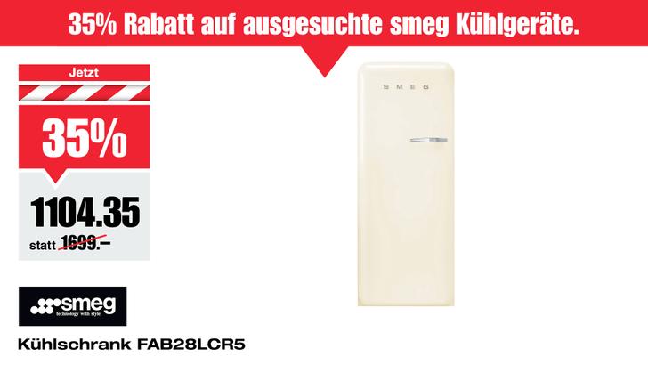 SMEG-Kuehlschrank