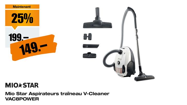 Mio Star V-Cleaner VAC8POWER