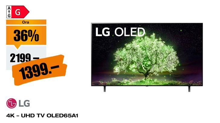 "LG OLED65A1 65"" 4K webOS 6.0"