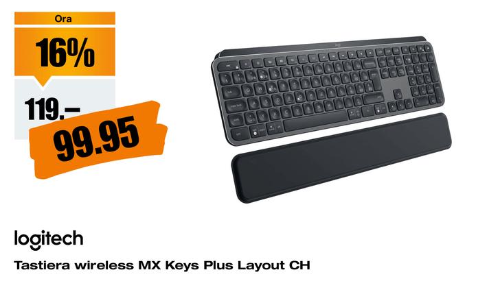 Logitech MX Keys Plus, CH-Layout