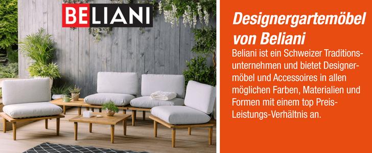 Designergartemöbel von Beliani