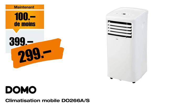 Climatisation-mobile-Domo-DO266A-S