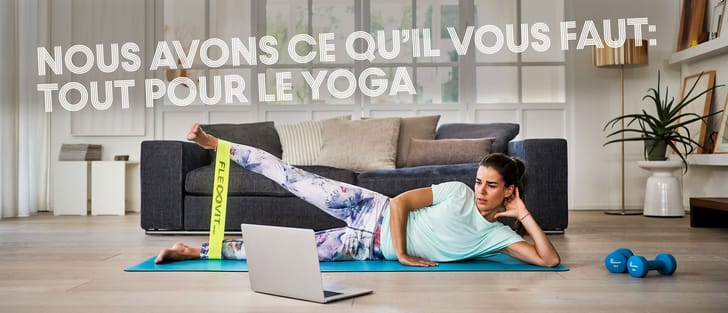 Assortiment de yoga
