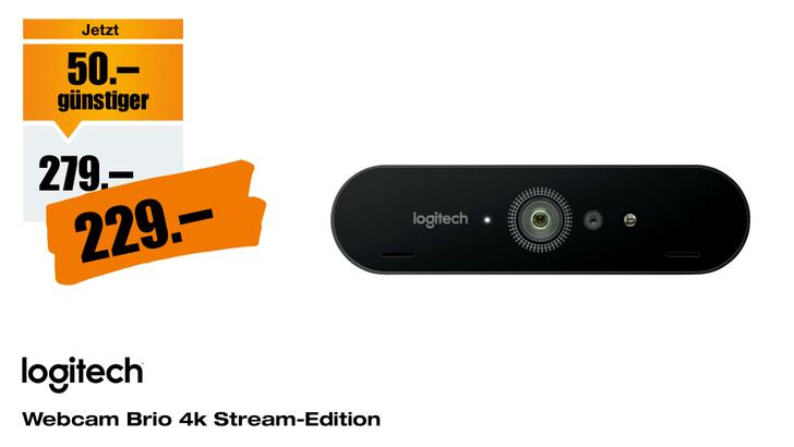 Logitech-Webcam-Brio-4k-Stream-Edition