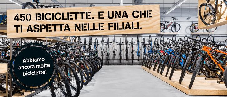 Disponibilità di biciclette