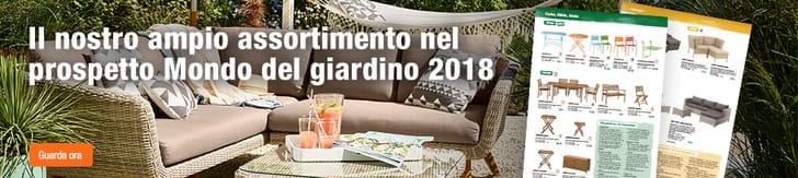 Prospetto mondo del giardino 2018
