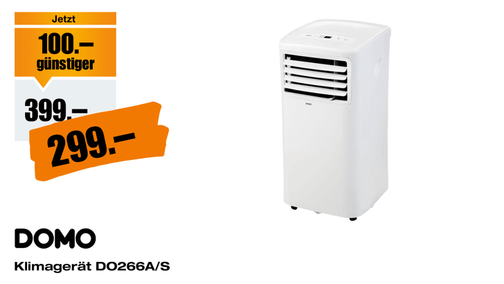 Mobile-Klimaanlage-Domo-DO266A-S