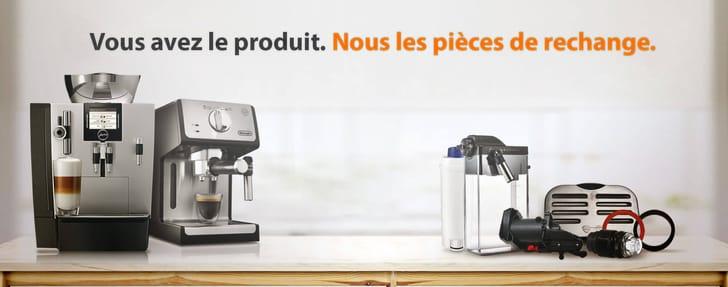 Pièces et accessoires pour machines à café