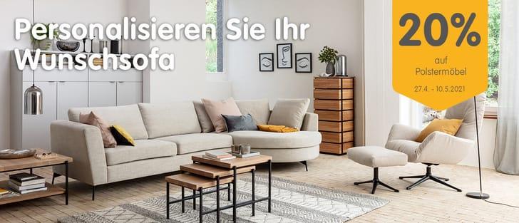 Banner Möbelkonfigurator Sofa DIENER