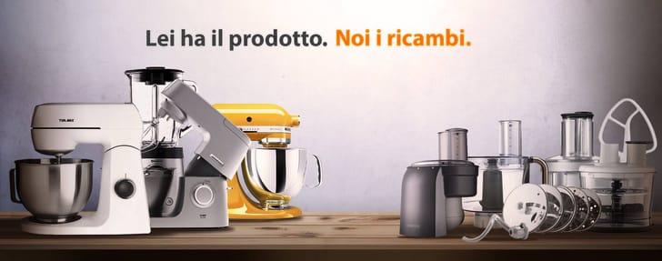 Ricambi e accessori per robot da cucina