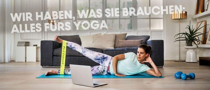 Yoga-Ausrüstung